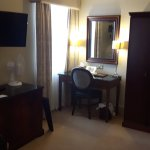 Executive king room. A bit cold and no view (bins) but spacious and well equipped. Tea and coffe