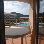 Balcon vue de la chambre