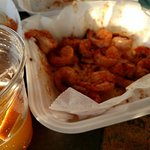 Steamed Shrimp!