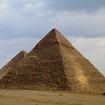 Photo of Kefre, the second pyramid