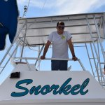 Capt Cody welsomes enveryone on board The New Excusion Boat