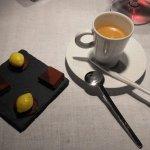 Chocolat citron confit , cafè