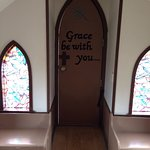Drumheller's Little Church Foto