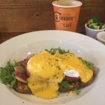 Chekhov's tasty Eggs Benedict breakfast