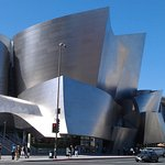 Disney Concert Hall is right across the street and down a block from the Omni.