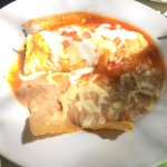 Arrachera and the huevos poblano. Delicious!!