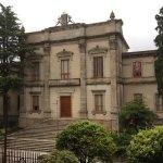 Parlamento Gallego visto desde la habitación