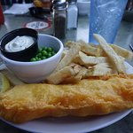 This is the American Winner for British Fish & Chips - Shakespeare's Pub and Grille, San Diego,