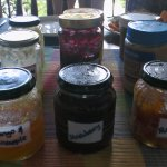 Some of the homemade spreads & jams - Epiphyte B&B