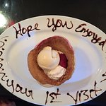 Awesome Personalized Presentation on an Incredibly Delicious Hot Berry Cobbler