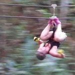 A client enjoin the zipline