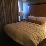second bedroom of 2 bedroom suite