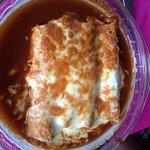The guacamole, enchilada Susa, chicken livers and the margarita.