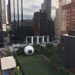 The magnificent giant eye by artist Tony Tasset.