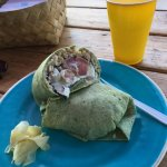 Ahi Nori Wrap - Delicious and very filling