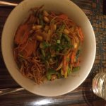 Thai Vegeterian Noodles with vegetables