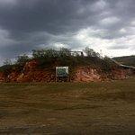 Olkaria Geothermal Power Plant inside Hell's Gate park