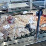 Frischfischtheke