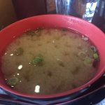 Miso soup (comes with shrimp tempura lunch