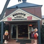 Fred & Barney ready to greet customers