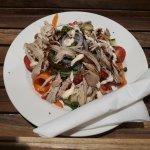 Our delicious chicken salad.