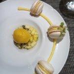 Mini Macarons Mangue