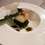 bacalao with spinich