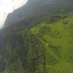 The view from a paraglider