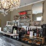 Cool looking coffee bar