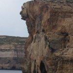 Precarious rock still to fall