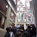 Tim told us the highest point in Amsterdam which only +- 20m above the sea level,