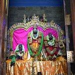 with idols of Lord Rama & Mother Sita