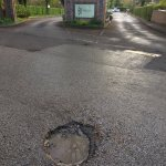 The Bredbury Hall pothole