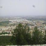 Vista de Jaén desde la subida del Castillo