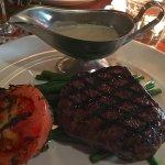 Steak and roquefort