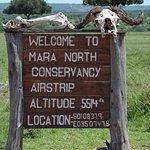 Mara airport where we met our guide