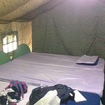 Family tent with 2 double bed