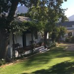 Oak cottage best place to stay in franschhoek