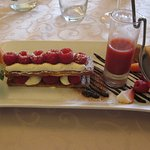 Millefeuille framboises, crème de mascarpone et vanille bourbon
