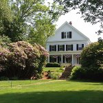 This Majestic 1825 Greek Revival home sits on top of the historic land known as Liberty Hill