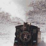 Invierno en La Trochita Foto: Luiggi Fotos