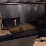 Grits Grill-packed, big menu, fast , delicious. That giant mountain of hash browns on the grill