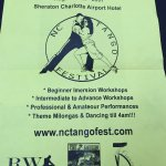 Flyer for event I attended