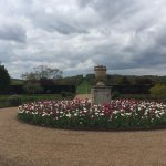 From the rear of the hall looking over the parkland