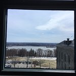 vue sur St-Romuald du dernier étage de l'ancienne prison