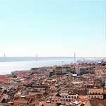 View of Lisbon from the Catle