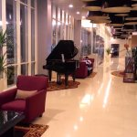 clean lobby entrance