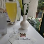 A mimosa starts Easter Brunch