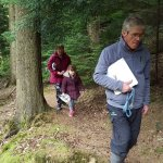 Teddy Bears picnic walk with Martin the Forest Ranger