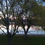 Morning lake photo.